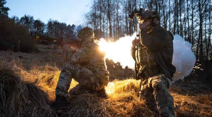 Militari din forțele pentru operații speciale (MApN/FOS România)
