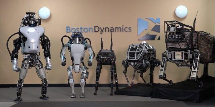 Roboți Atlas / Foto: Boston Dynamics via YouTube