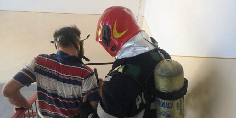 Incendiu Alba Iulia / Sursa foto: ISU Alba